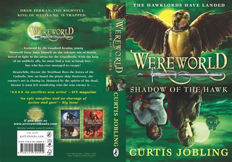 The Book Zone: News: Book Cover   Wereworld: Shadow of the ...