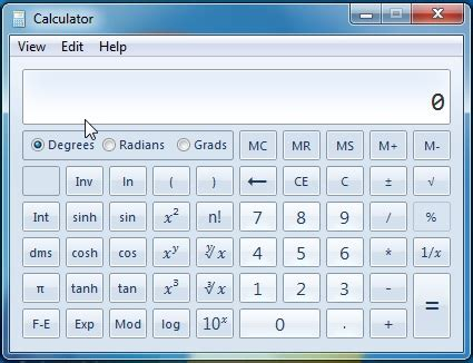 The Calculator in Windows 7 & Windows 8   A Tool for the ...