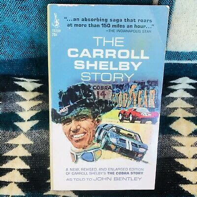 The Carroll Shelby Story By Carroll Shelby, Pocket Books ...