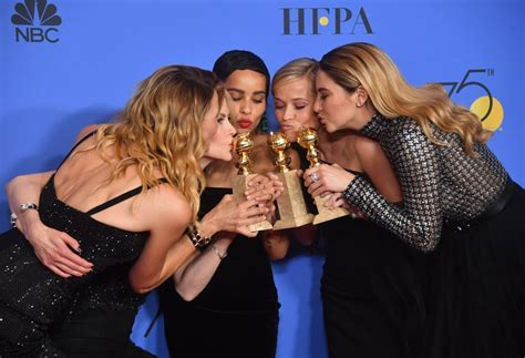 The Cast of Big Little Lies at the 2018 Golden Globes ...