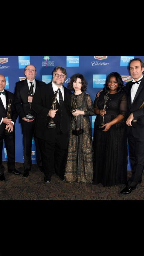 The Cast of The Shape of Water presented with Vanguard ...