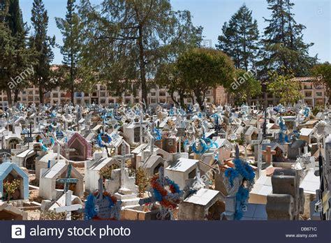 The catholic cemetery, cementerio General, Sucre, Bolivia ...