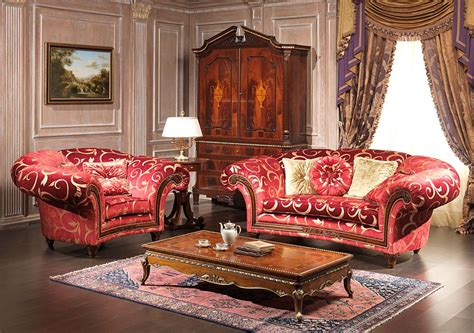 The classic furniture for the living room: the styles ...