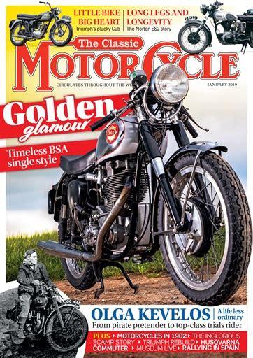 The Classic MotorCycle Magazine   46 1   January 2019 ...