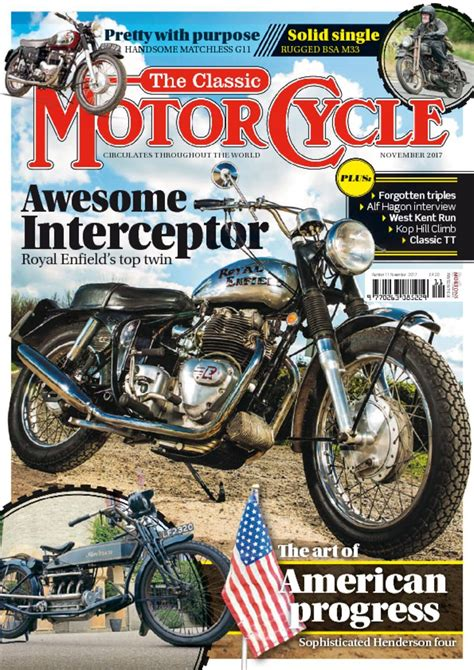 The Classic MotorCycle Magazine  Digital    DiscountMags.com