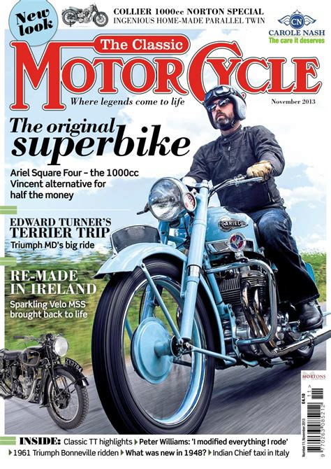The Classic MotorCycle Magazine   November 2013 ...