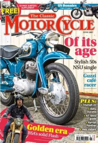The Classic MotorCycle Magazine Subscription   isubscribe