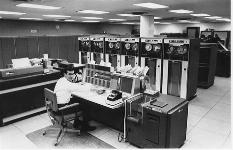 The Columbia University Computer Center in 1965