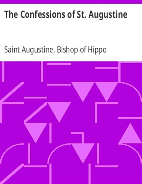 The Confessions of St. Augustine | PDF Host