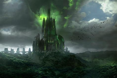 The Corrupted Castle HD Wallpaper | Background Image ...