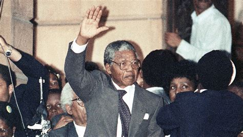 The Day Nelson Mandela Walked Out Of Prison | WBUR News