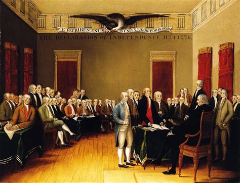 The Declaration of Independence, July 4, 1776, 1845 ...