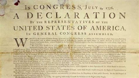The Declaration of Independence    quick facts and full...