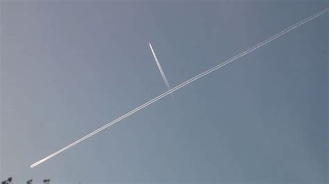 The Difference Between Chemtrail And Contrail   YouTube