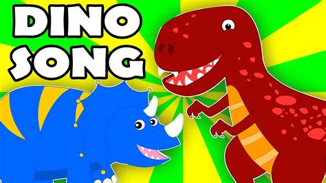 the dinosaurs song | dino song | nursery rhymes | songs ...