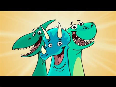 The Dinosaurs Song   YouTube