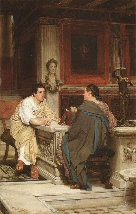 The Discourse   Sir Lawrence Alma Tadema   WikiArt.org