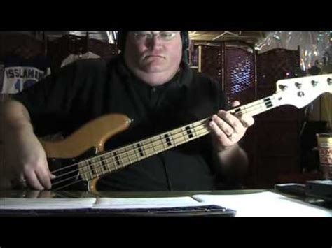 The Doobie Brothers Long Train Runnin  Bass Cover   YouTube
