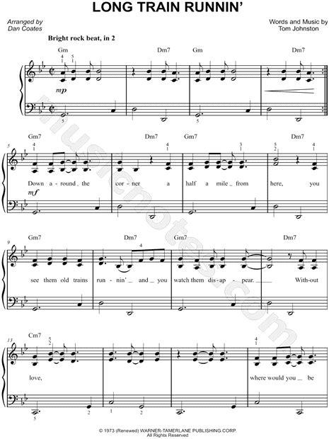 The Doobie Brothers  Long Train Runnin   Sheet Music  Easy ...