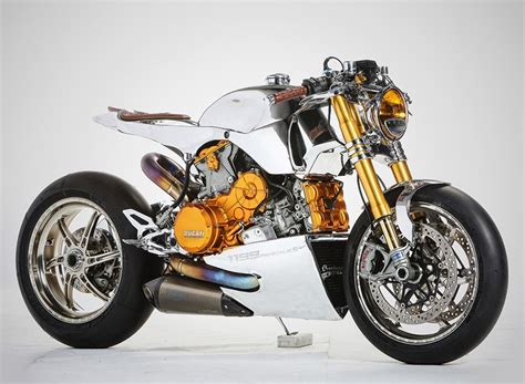 the ducati 1199 polished panigale motorcycle by ortolani ...