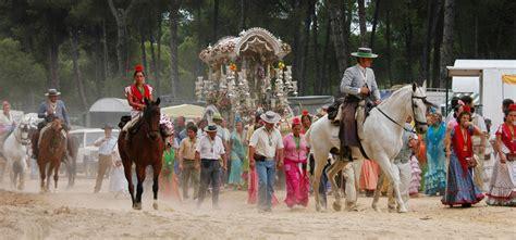 The El Rocio Pilgrimage, Lower Andalucia, Andalucia ...