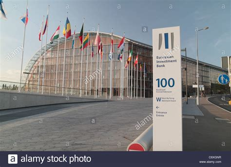 The European Investment Bank  EIB  offices in Luxembourg ...