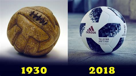 The Evolution Of The Official World Cup Ball [[ 1930 ...
