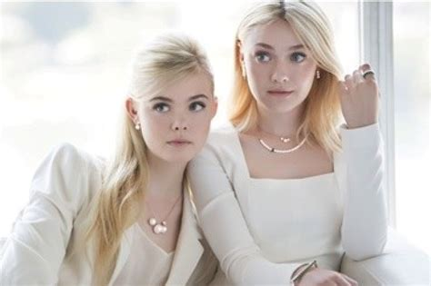 The Fanning Sisters  Campaign For J.Estina Is Stylish ...