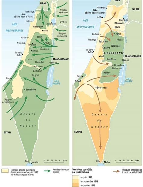 The first Arab Israeli war  1948 49 , by Philippe ...