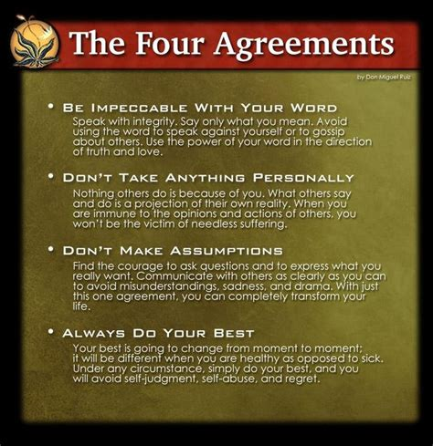 The Four Agreements   Don Miguel Ruiz | Life | Pinterest