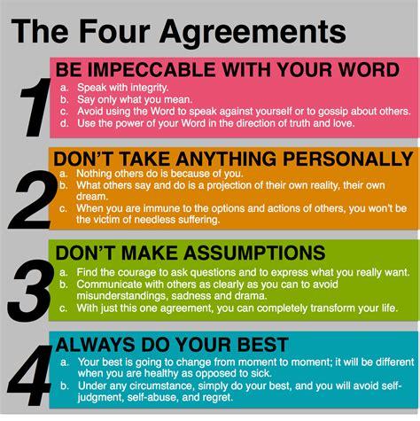 The Four Agreements | Leadership Hub