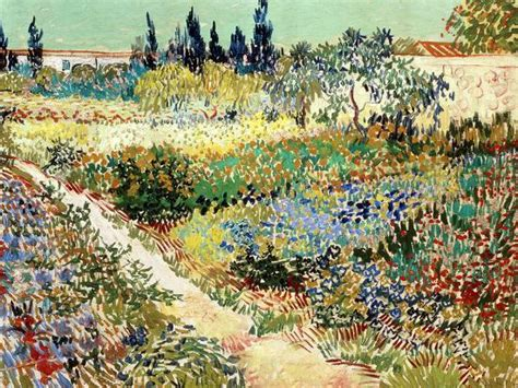 The Garden at Arles, 1888 Giclee Print by Vincent van Gogh ...
