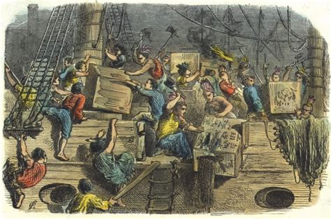 The global origins of the Boston Tea Party   History Extra