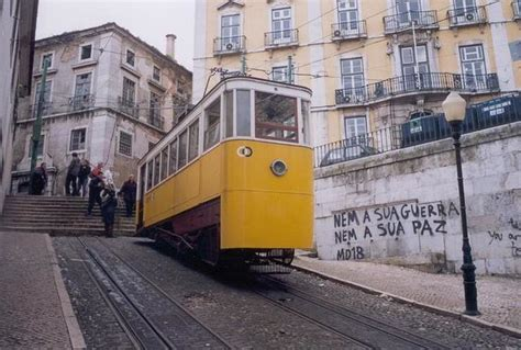 The Gloria Funicular Lisbon Portugal | Flickr   Photo Sharing!
