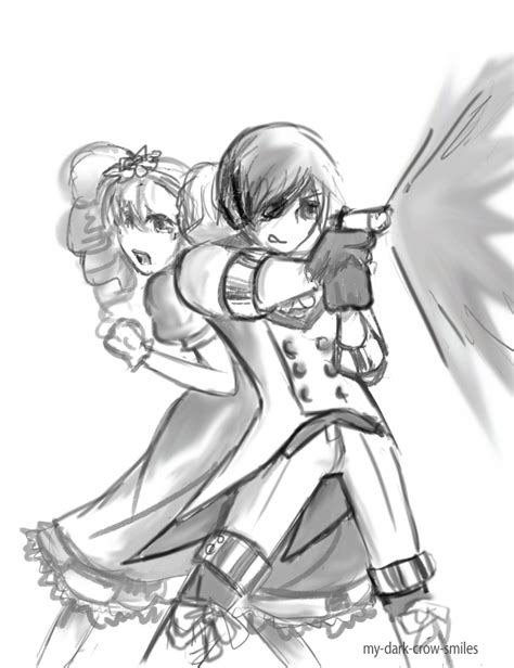 The Hero and Damsel in Distress  Version 2  by ...