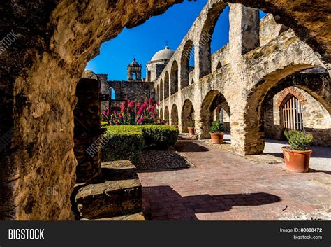 The Historic Old West Spanish Mission San Jose, Founded In ...