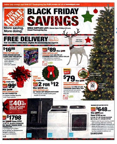 The Home Depot's 2018 Black Friday ad is out   Shopportunist