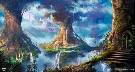 The Immortal Trees by Whendell on DeviantArt   Fantasy art ...
