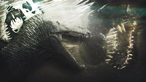 The Isle   AQUATIC DINOSAUR HIDES FROM MONSTERS UNDER ...