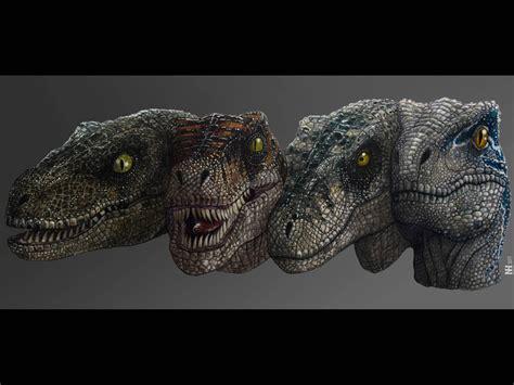 The Jurassic Park Raptors Evolution   Etsy