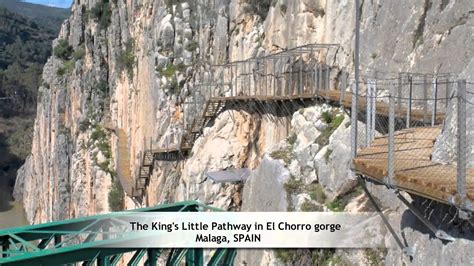 The King s Little Pathway in El Chorro gorge, Malaga ...