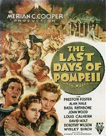 The Last Days of Pompeii  1935    FilmAffinity