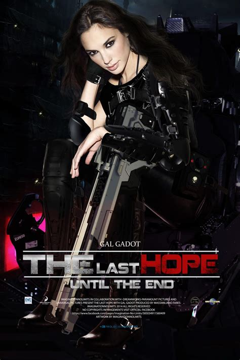 The Last Hope – Movie Poster with Gal Gadot by ...