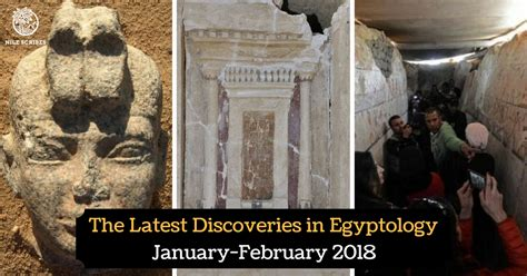 The Latest Discoveries in Egyptology  January February ...