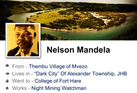 The Life and Times of Nelson Mandela Retold with Facebook ...