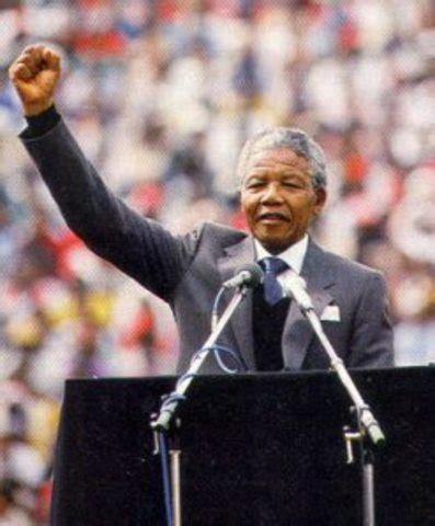 The Life Of Nelson Mandela timeline | Timetoast timelines