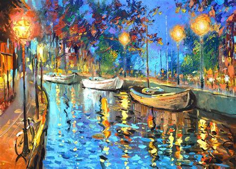 The Lights   Cuadros, Pinturas Al Oleo De Dmitry Spiros ...