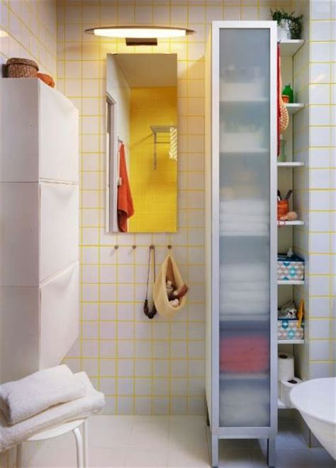 The LILLANGEN high cabinet is great for small spaces and ...