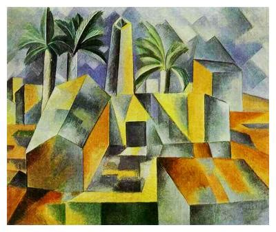 The Lost Sock : Using Value in Cubism
