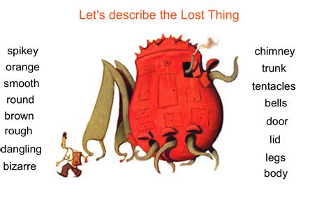 The Lost Thing  effectively using the IWB | EUTUXIA